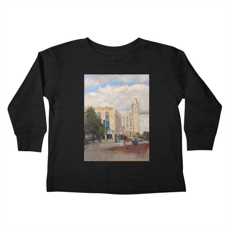 Miller and Rhoads Kids Toddler Longsleeve T-Shirt by NatalieGatesArt's Shop