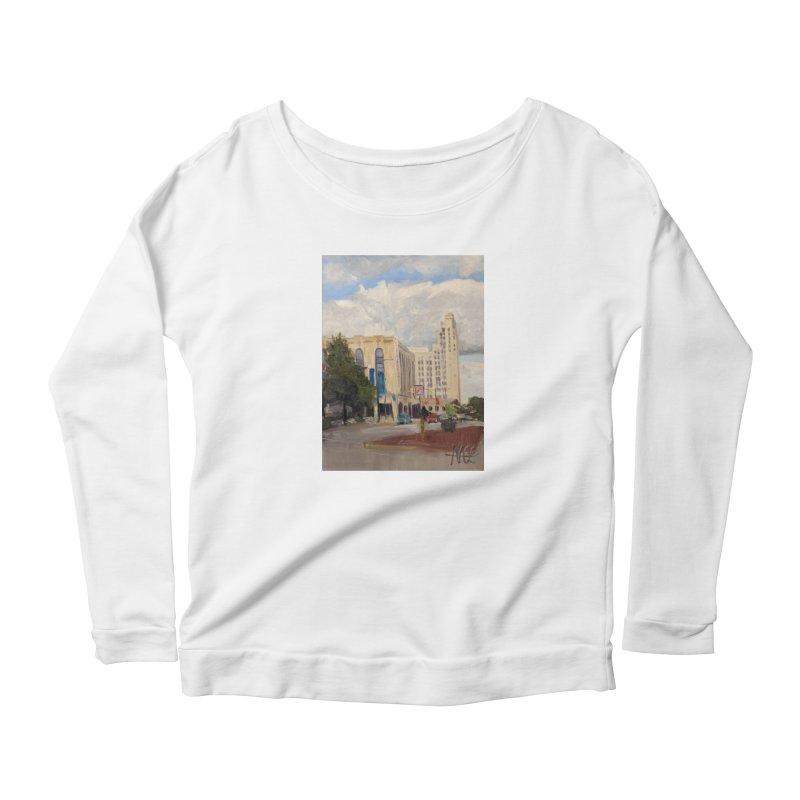 Miller and Rhoads Women's Scoop Neck Longsleeve T-Shirt by NatalieGatesArt's Shop