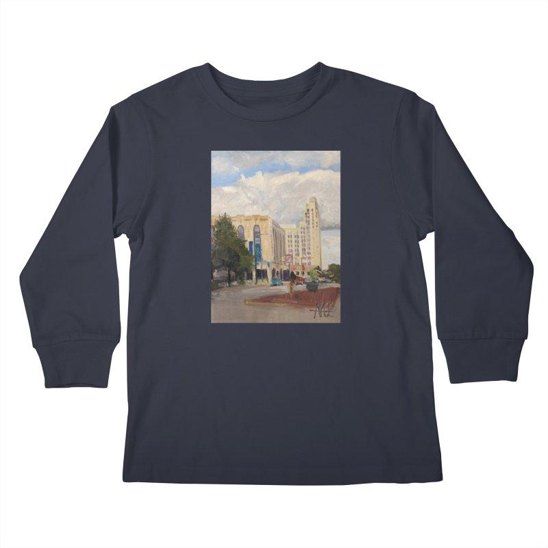 Miller and Rhoads Kids Longsleeve T-Shirt by NatalieGatesArt's Shop