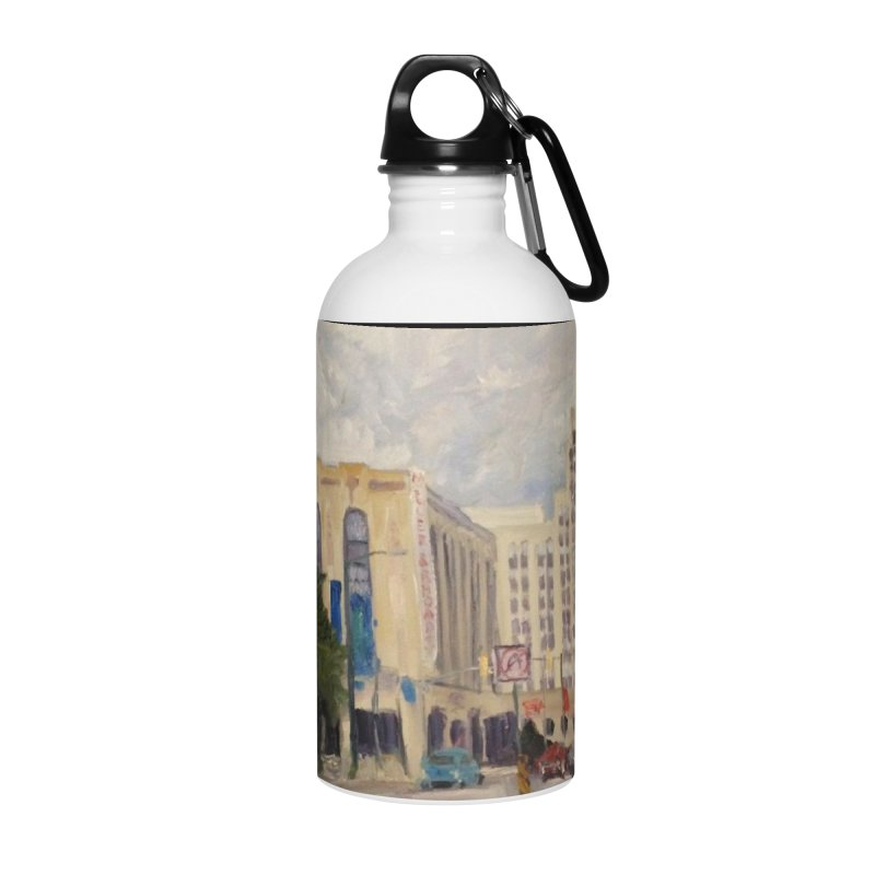 Miller and Rhoads Accessories Water Bottle by NatalieGatesArt's Shop