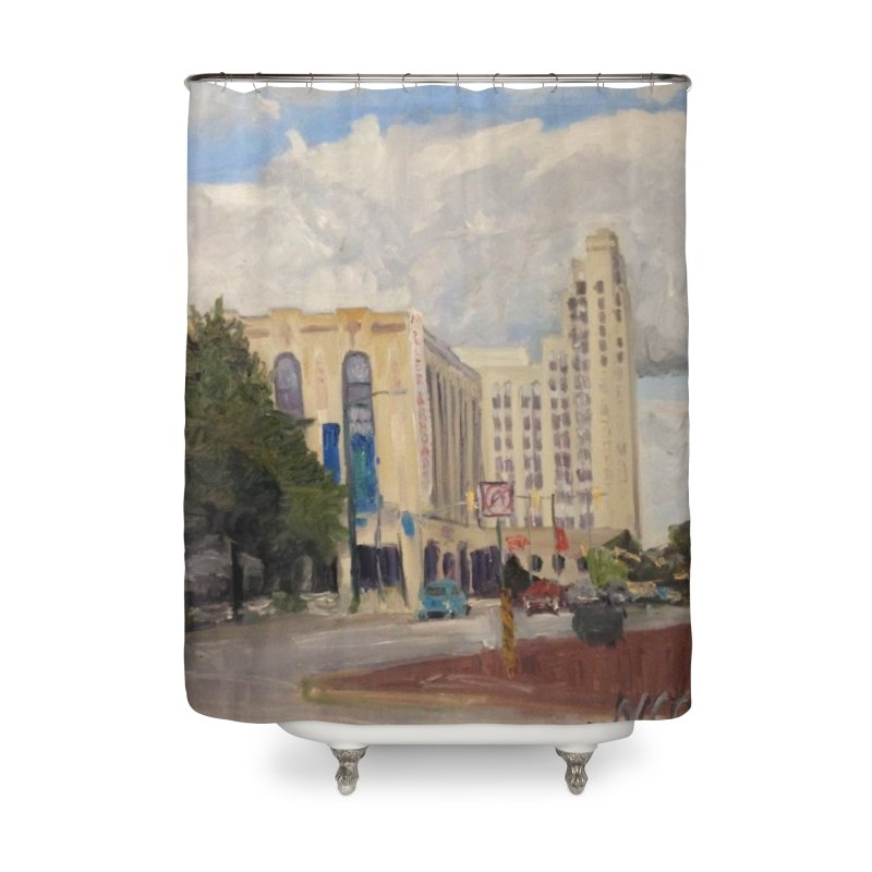 Miller and Rhoads Home Shower Curtain by NatalieGatesArt's Shop
