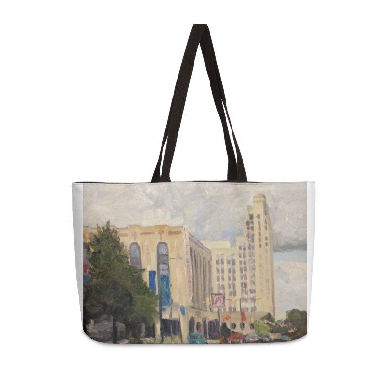 Miller and Rhoads Accessories Weekender Bag Bag by NatalieGatesArt's Shop