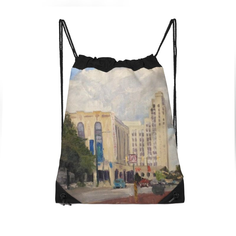 Miller and Rhoads Accessories Drawstring Bag Bag by NatalieGatesArt's Shop