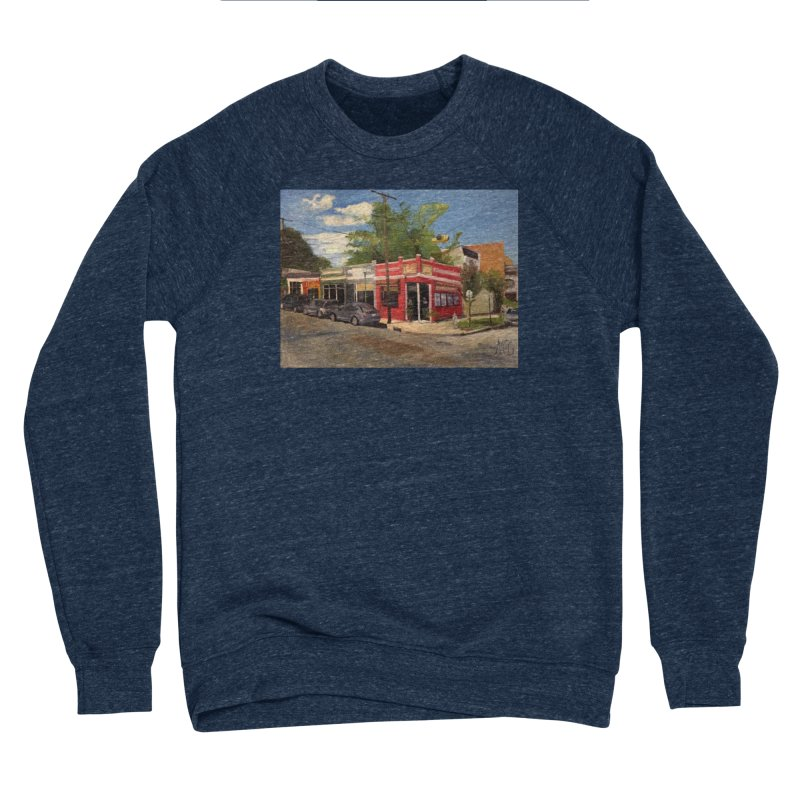 China Panda, Devil's Triangle Women's Sponge Fleece Sweatshirt by NatalieGatesArt's Shop
