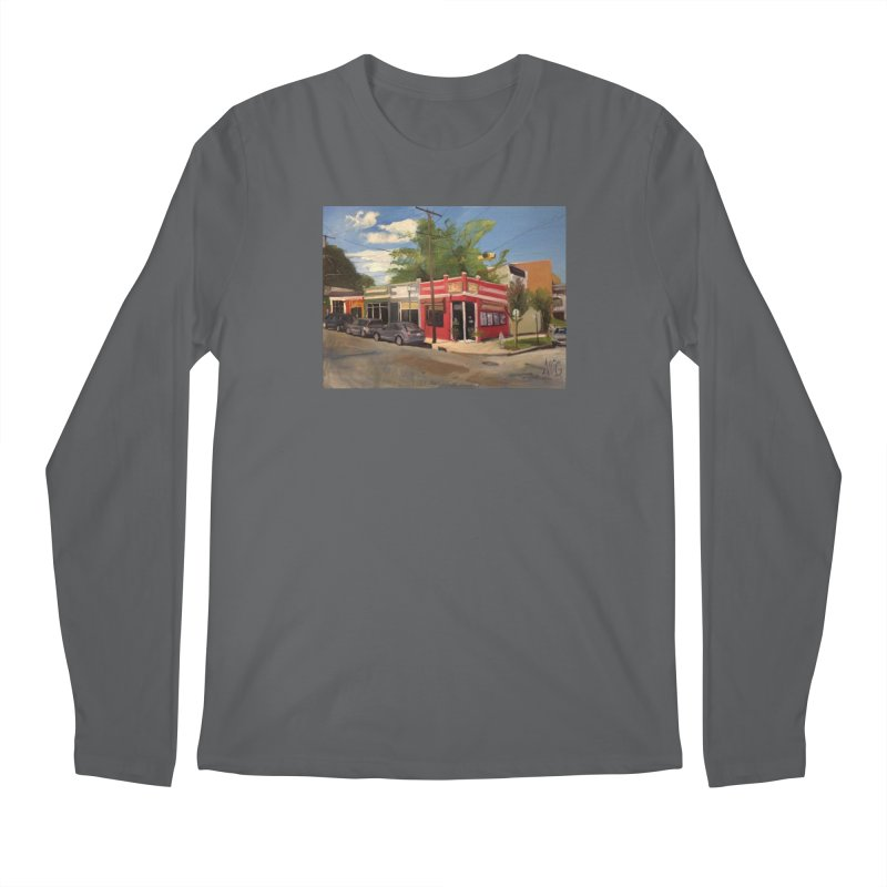 China Panda, Devil's Triangle Men's Longsleeve T-Shirt by NatalieGatesArt's Shop