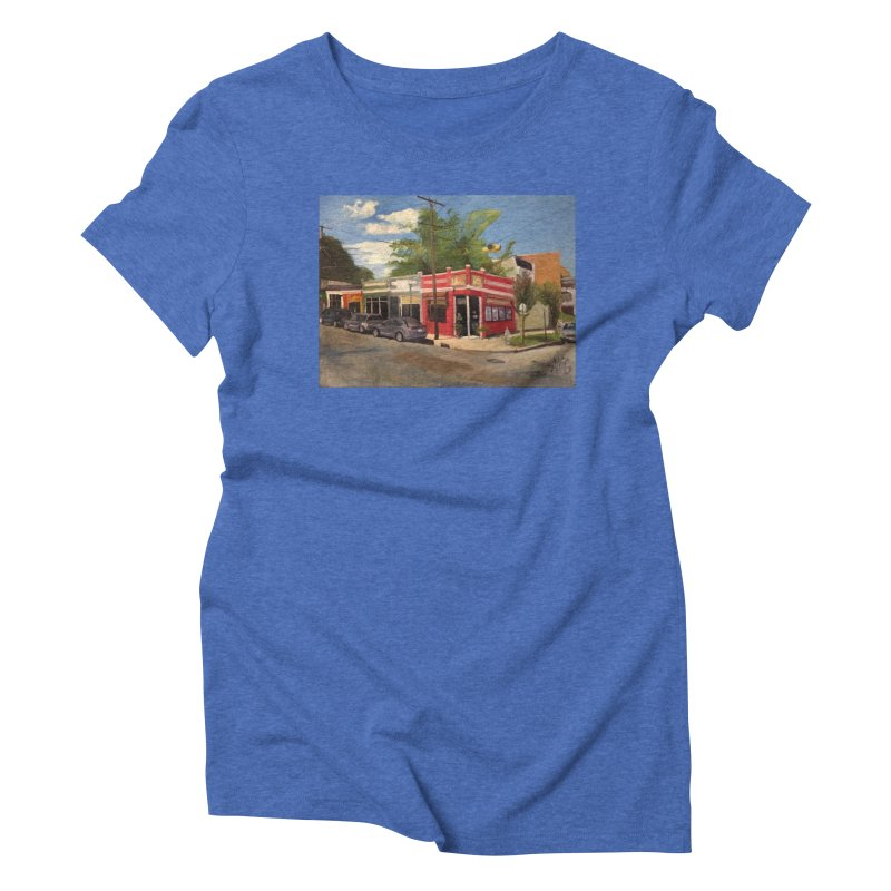 China Panda, Devil's Triangle Women's T-Shirt by NatalieGatesArt's Shop