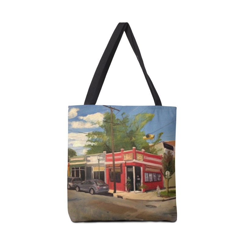 China Panda, Devil's Triangle Accessories Tote Bag Bag by NatalieGatesArt's Shop