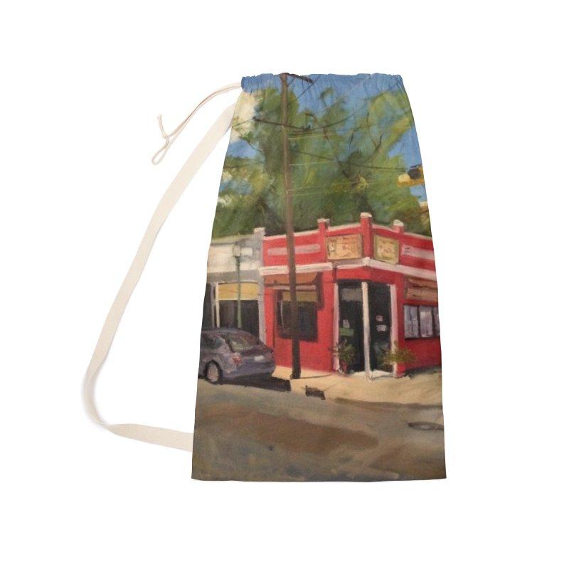 China Panda, Devil's Triangle Accessories Bag by NatalieGatesArt's Shop