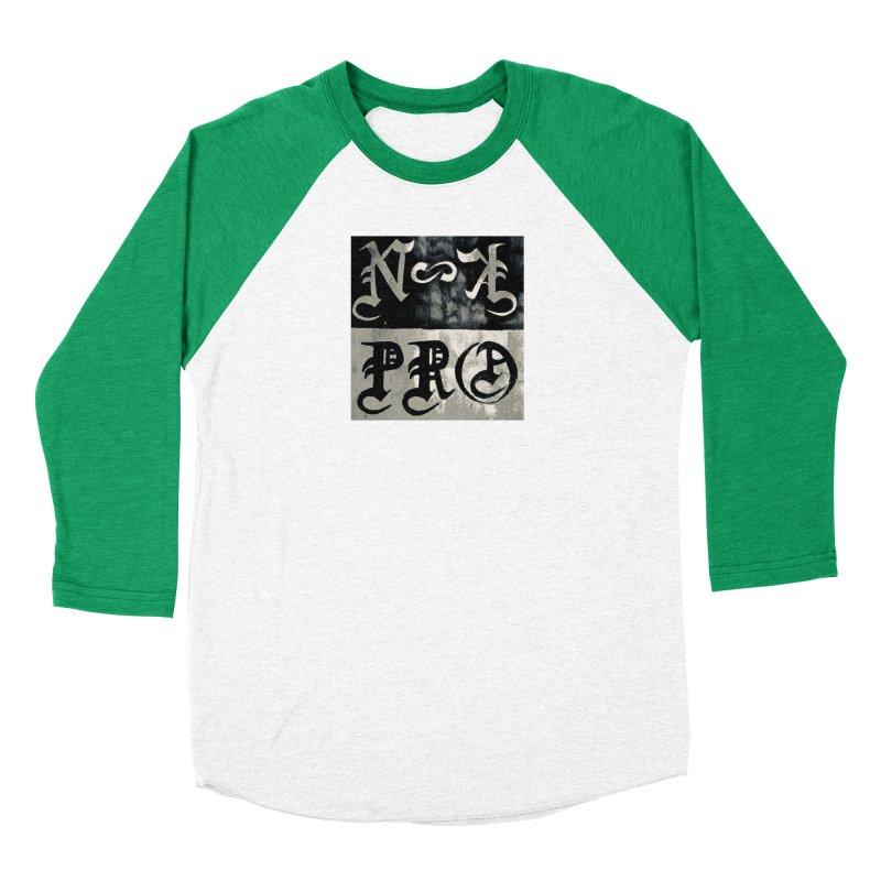 NateKidPro logo Women's Baseball Triblend Longsleeve T-Shirt by NateKid Productions's Artist Shop