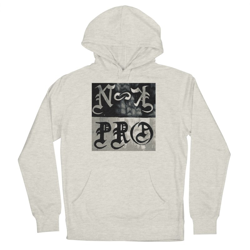 NateKidPro logo Men's French Terry Pullover Hoody by NateKid Productions's Artist Shop