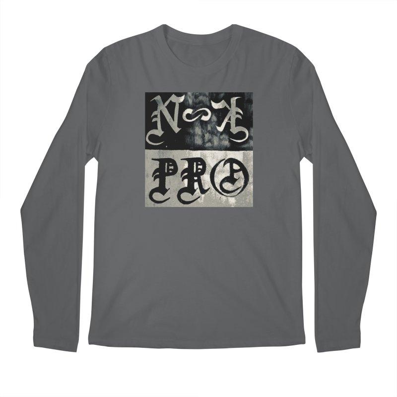 NateKidPro logo Men's Regular Longsleeve T-Shirt by NateKid Productions's Artist Shop
