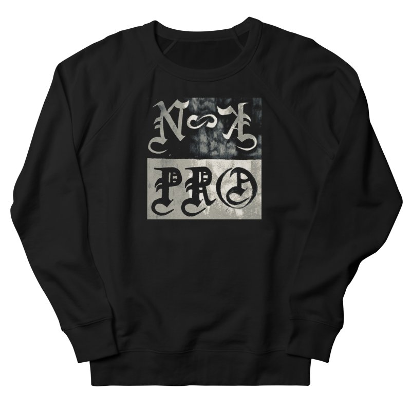 NateKidPro logo Women's French Terry Sweatshirt by NateKid Productions's Artist Shop