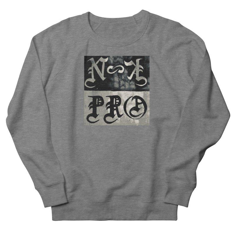 NateKidPro logo Men's French Terry Sweatshirt by NateKid Productions's Artist Shop
