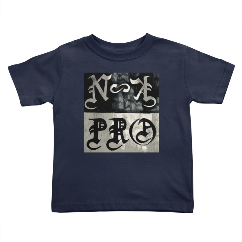 NateKidPro logo Kids Toddler T-Shirt by NateKid Productions's Artist Shop