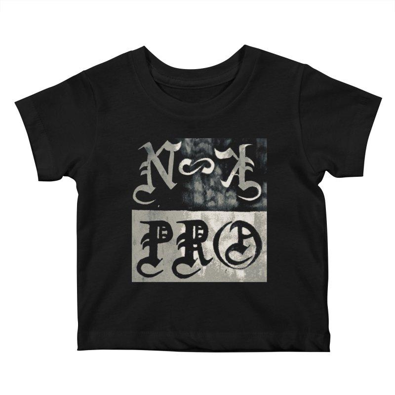 NateKidPro logo Kids Baby T-Shirt by NateKid Productions's Artist Shop