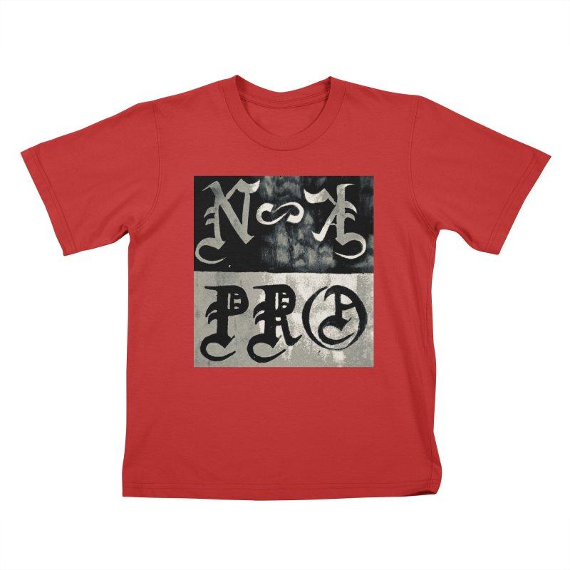 NateKidPro logo Kids T-Shirt by NateKid Productions's Artist Shop