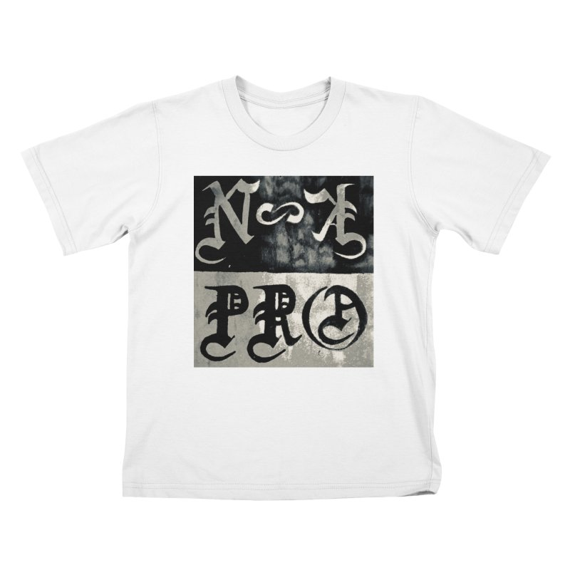NateKidPro logo Kids T-Shirt by NateKid Productions's Artist Shop