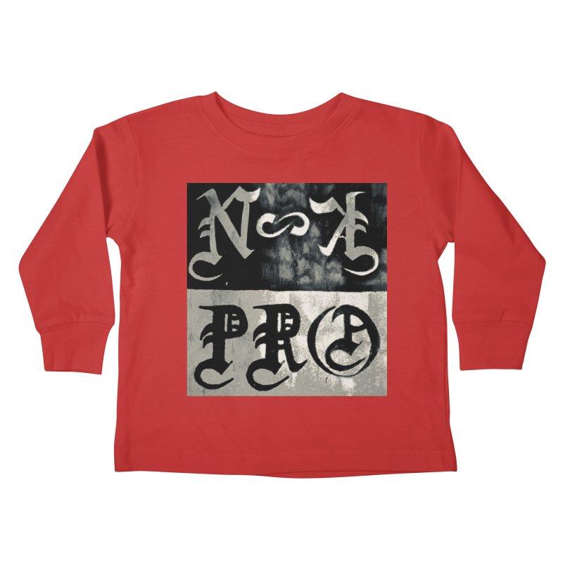 NateKidPro logo Kids Toddler Longsleeve T-Shirt by NateKid Productions's Artist Shop
