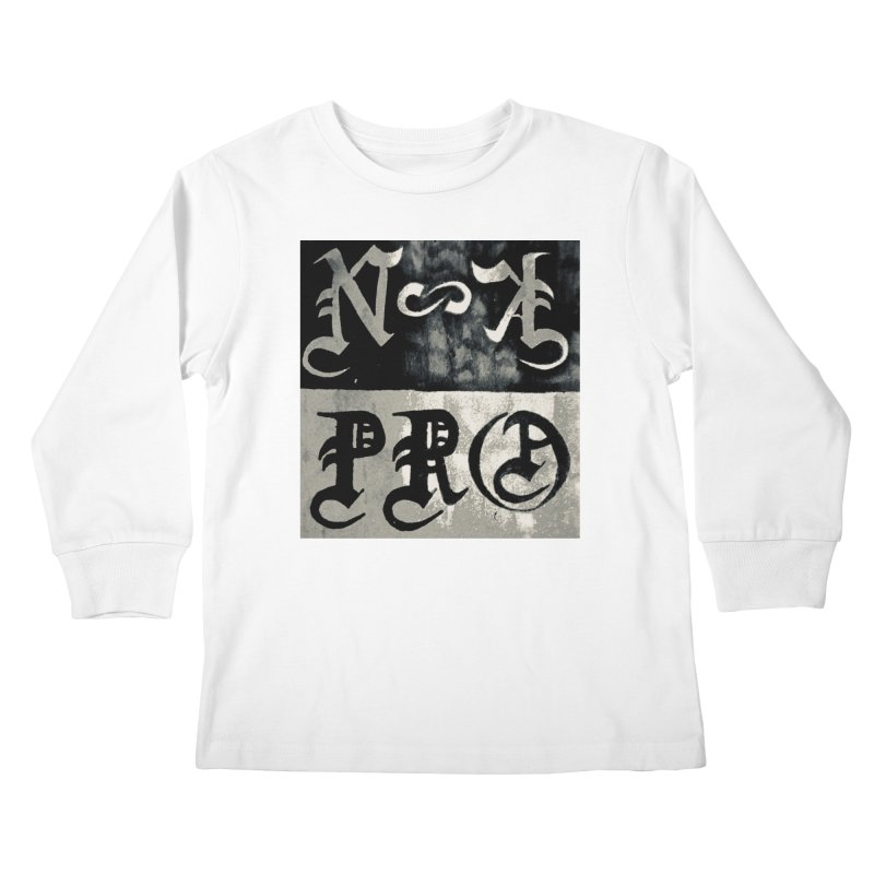 NateKidPro logo Kids Longsleeve T-Shirt by NateKid Productions's Artist Shop