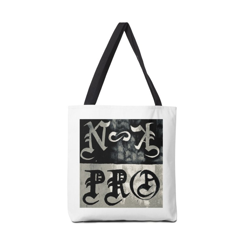 NateKidPro logo Accessories Tote Bag Bag by NateKid Productions's Artist Shop