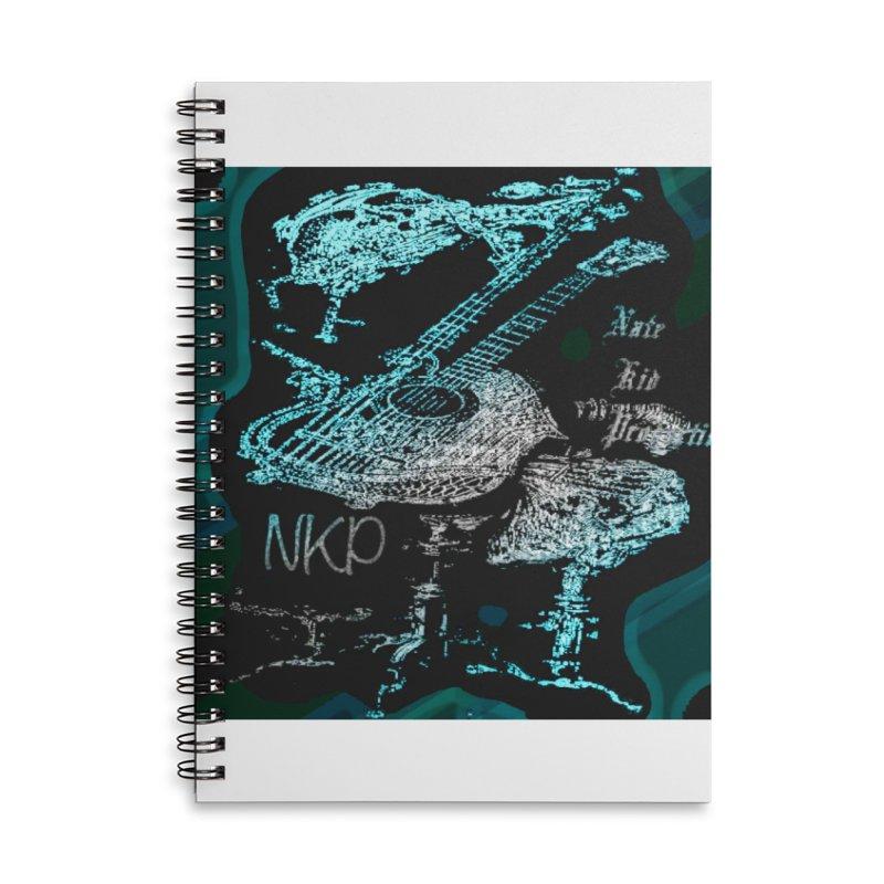 NKP original logo Accessories Lined Spiral Notebook by NateKid Productions's Artist Shop