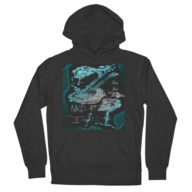NKP original logo Men's French Terry Pullover Hoody by NateKid Productions's Artist Shop