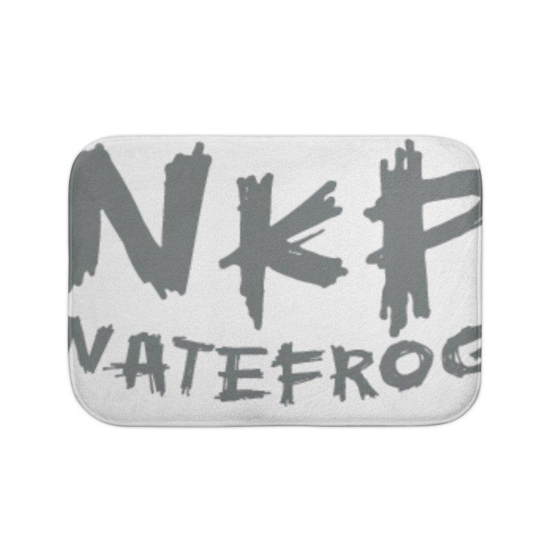 NKP NATE FROG Home Bath Mat by NateKid Productions's Artist Shop