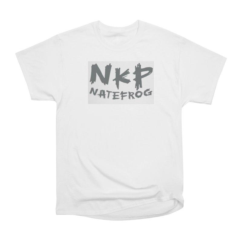 NKP NATE FROG Men's Heavyweight T-Shirt by NateKid Productions's Artist Shop