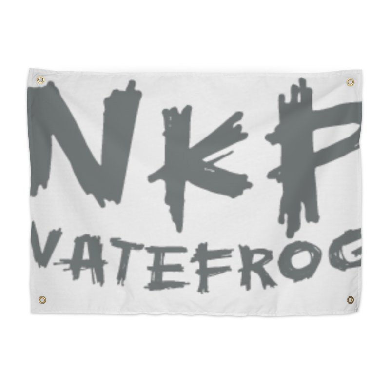 NKP NATE FROG Home Tapestry by NateKid Productions's Artist Shop