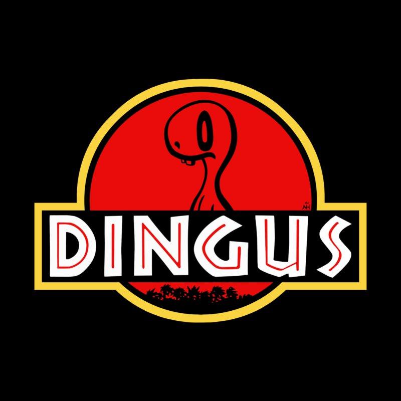 2DD - Dingus Men's T-Shirt Men's T-Shirt by Nathan Hamill