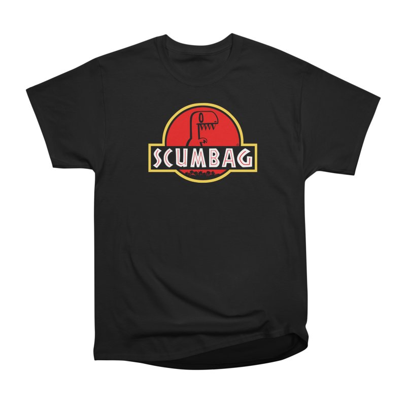 2DD - Scumbag Men's T-Shirt Men's Heavyweight T-Shirt by Nathan Hamill