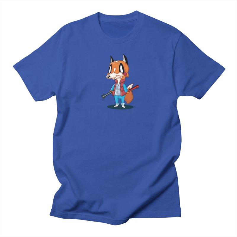 McFox Men's T-Shirt Men's Regular T-Shirt by Nathan Hamill