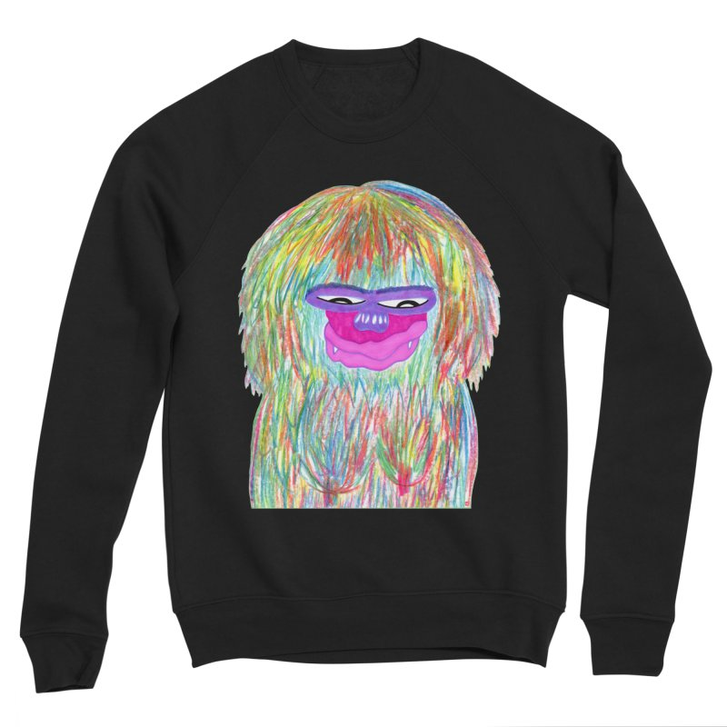 Lady monkey Women's Sponge Fleece Sweatshirt by NatiRomero's Artist Shop