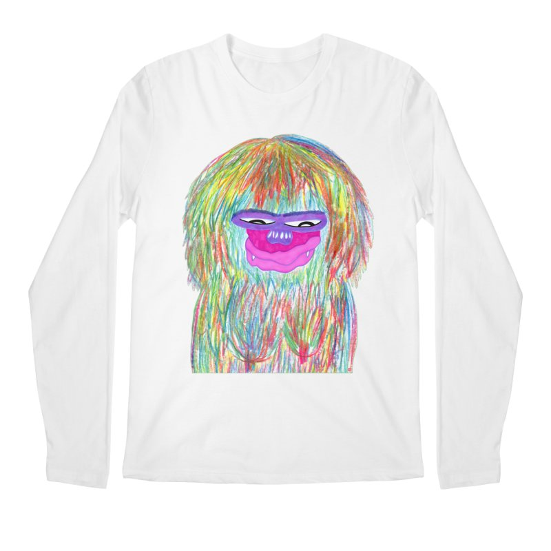 Lady monkey Men's Regular Longsleeve T-Shirt by NatiRomero's Artist Shop