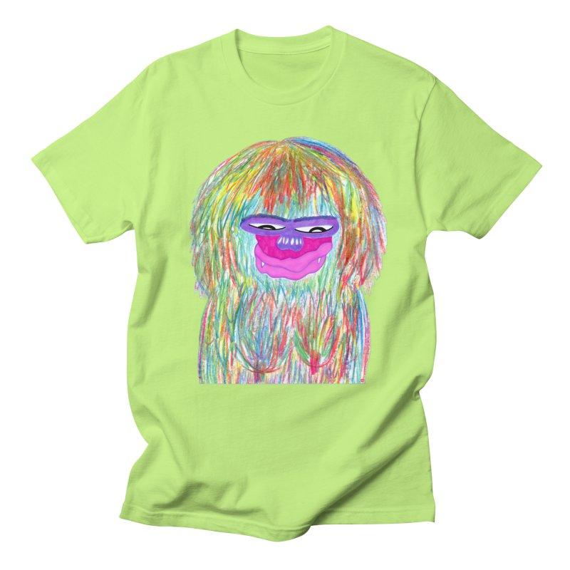 Lady monkey Men's T-Shirt by NatiRomero's Artist Shop