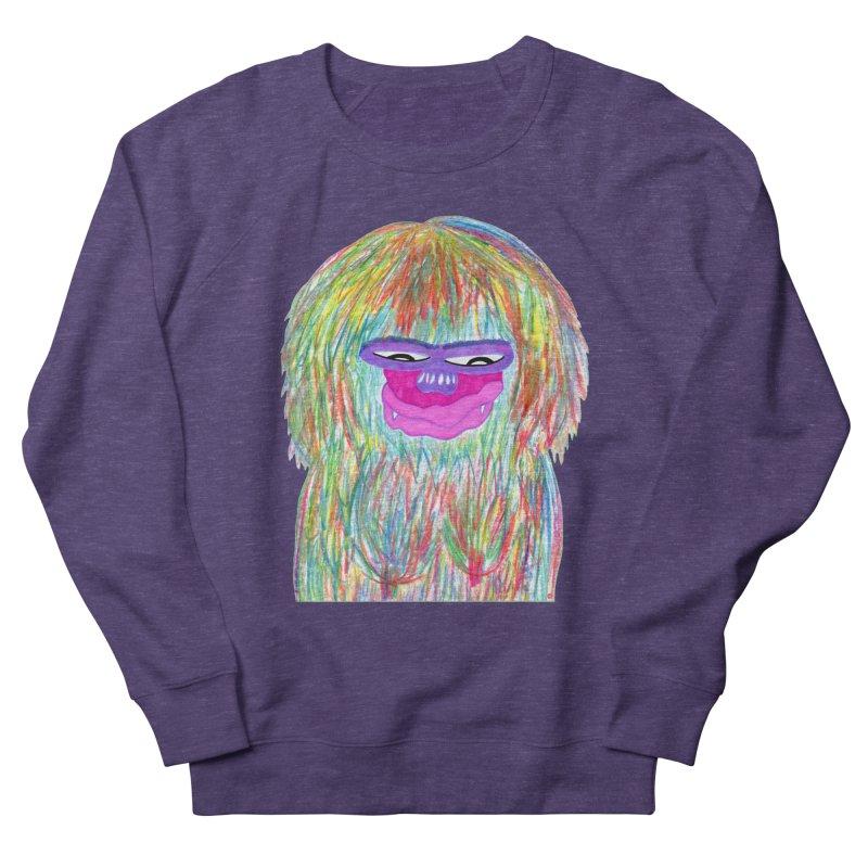Lady monkey Women's French Terry Sweatshirt by NatiRomero's Artist Shop