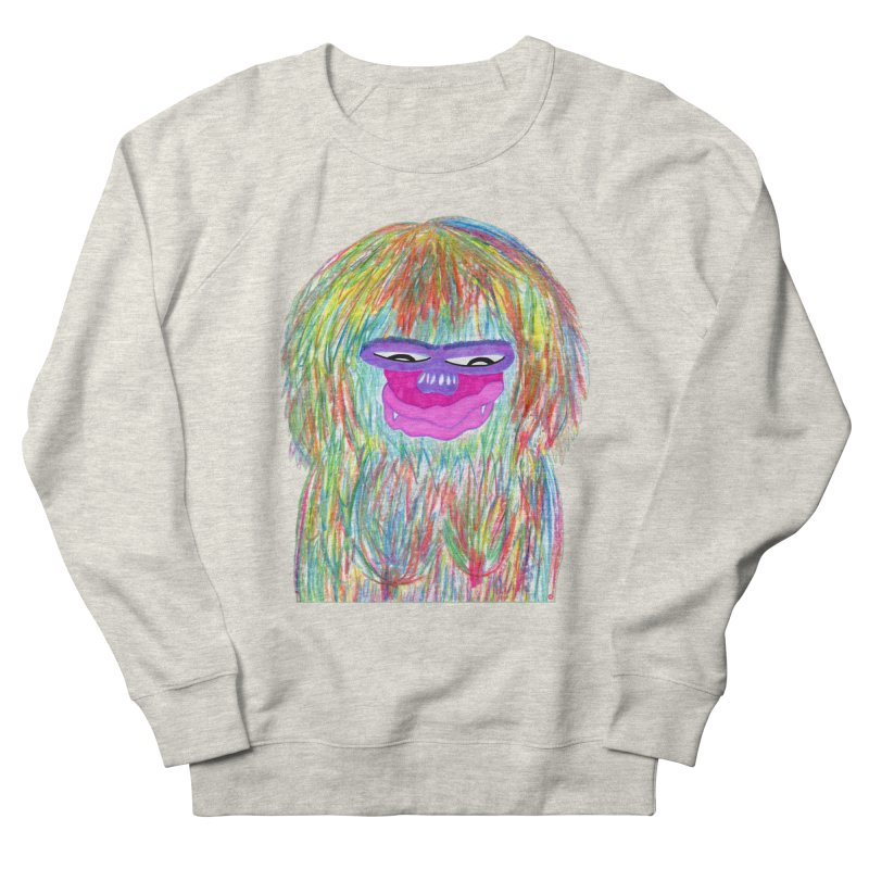 Lady monkey Men's Sweatshirt by NatiRomero's Artist Shop