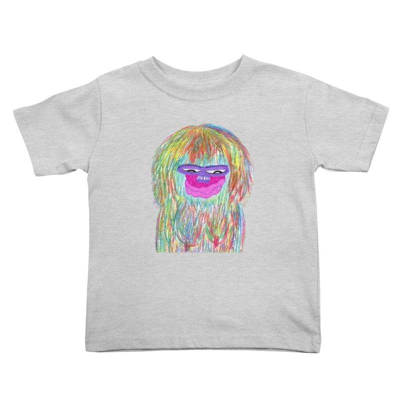 Lady monkey Kids Toddler T-Shirt by NatiRomero's Artist Shop