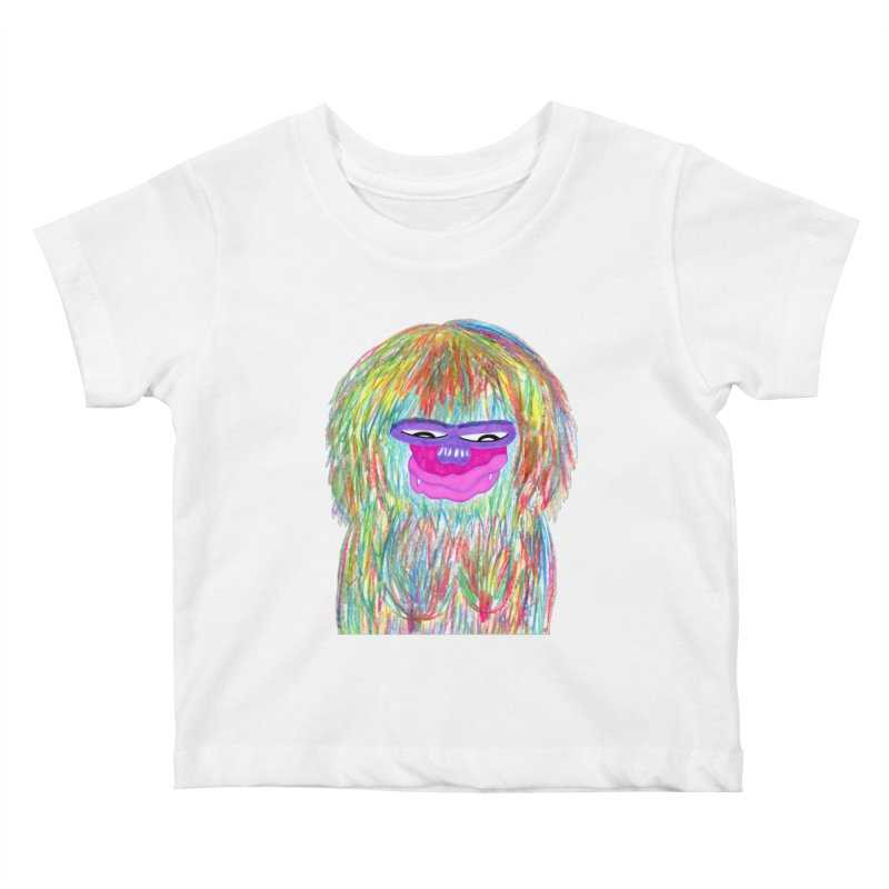 Lady monkey Kids Baby T-Shirt by NatiRomero's Artist Shop