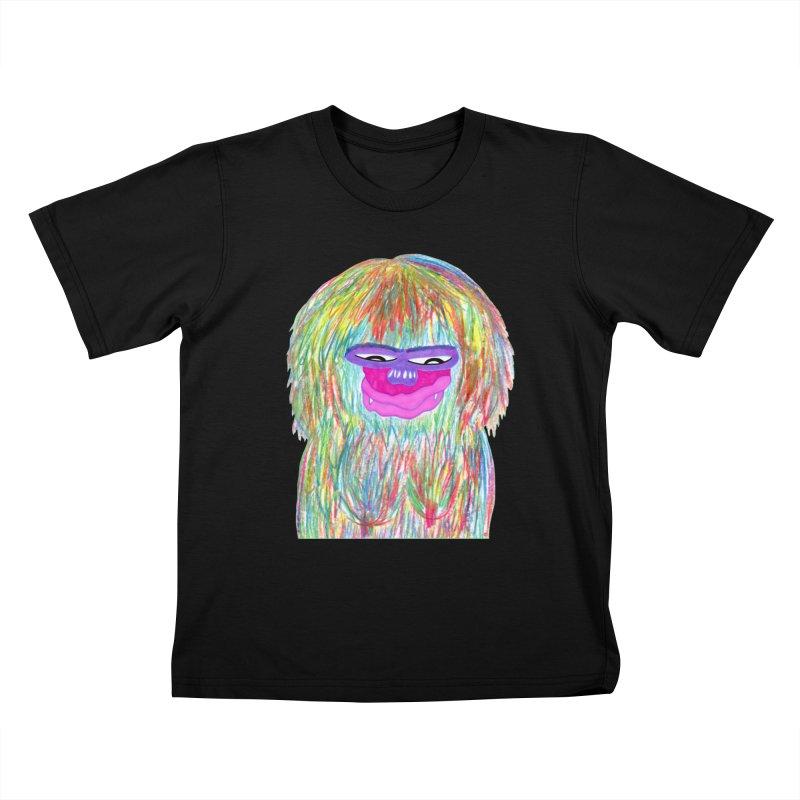 Lady monkey Kids T-Shirt by NatiRomero's Artist Shop