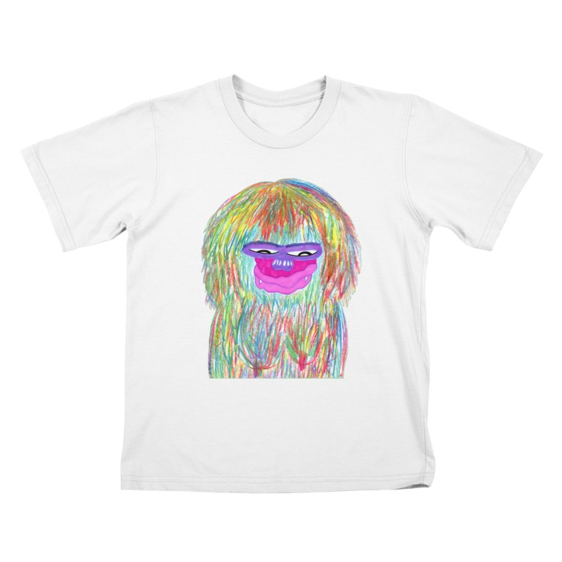 Lady monkey Kids T-Shirt by NatiRomero's Artist Shop