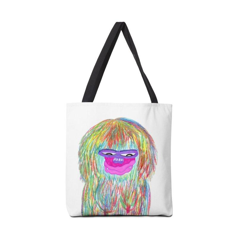 Lady monkey Accessories Tote Bag Bag by NatiRomero's Artist Shop
