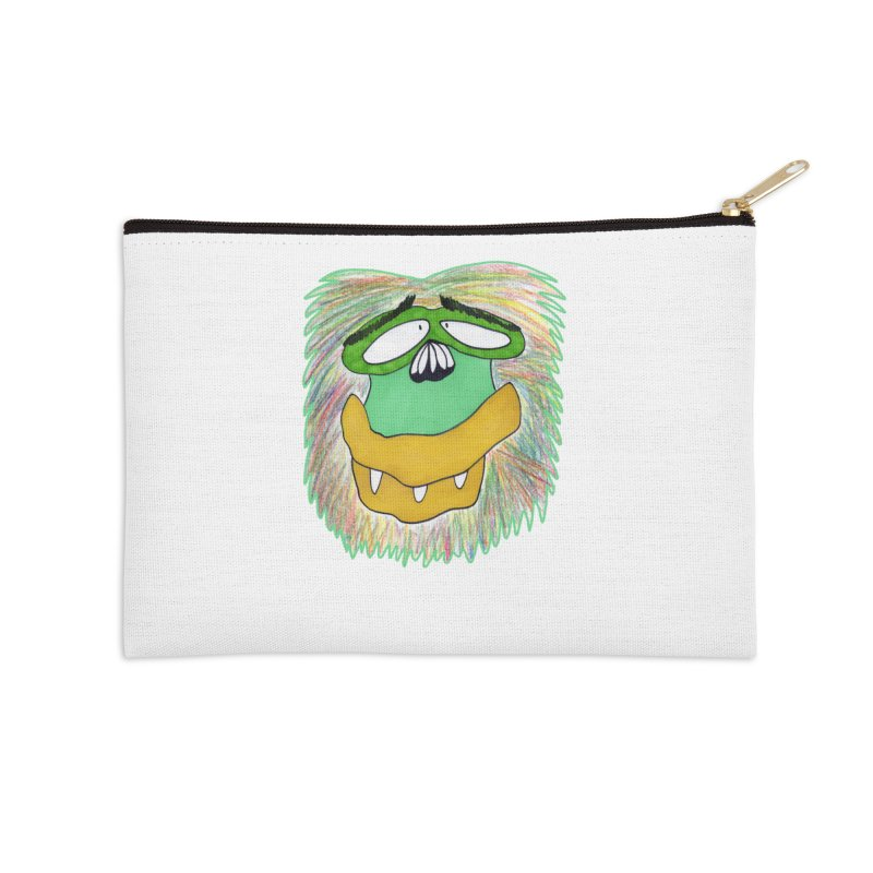 Monkey Guy Accessories Zip Pouch by NatiRomero's Artist Shop