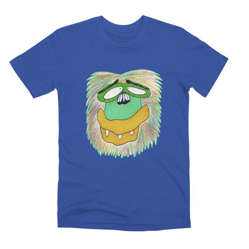Monkey Guy Men's T-Shirt by NatiRomero's Artist Shop