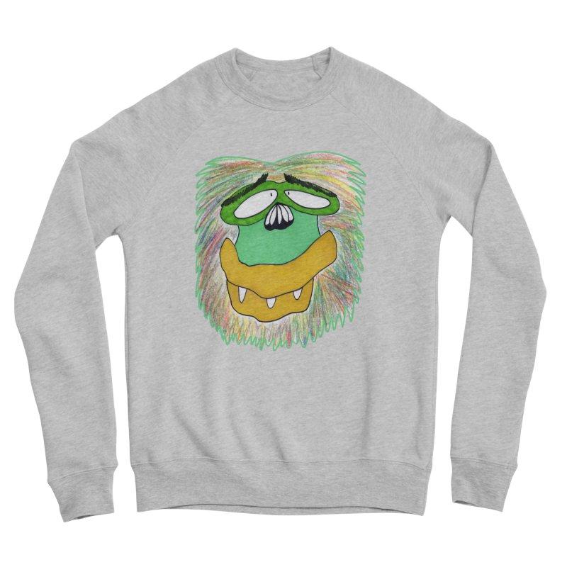 Monkey Guy Women's Sponge Fleece Sweatshirt by NatiRomero's Artist Shop