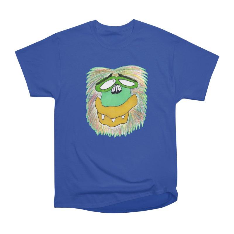 Monkey Guy Women's T-Shirt by NatiRomero's Artist Shop