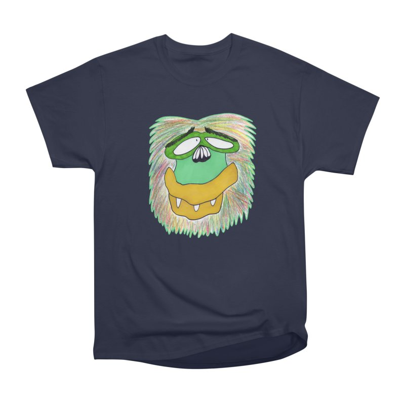 Monkey Guy Men's Heavyweight T-Shirt by NatiRomero's Artist Shop