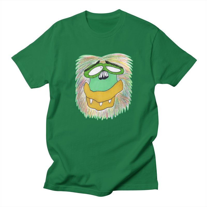 Monkey Guy Men's T-Shirt by NatiRomero's Artist Shop