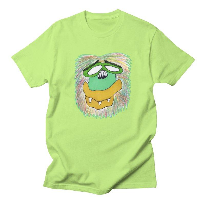 Monkey Guy Men's Regular T-Shirt by NatiRomero's Artist Shop