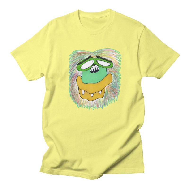 Monkey Guy Women's Regular Unisex T-Shirt by NatiRomero's Artist Shop